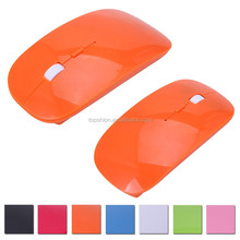 Colorful computer mouse for mac wireless mini slim mouse gaming mouse