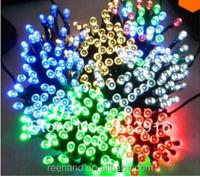 100pcs LEDs wedding decoration colorful solar String light