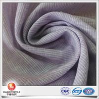 new design yarn dyed cotton linen purple stripe woven shirt fabric