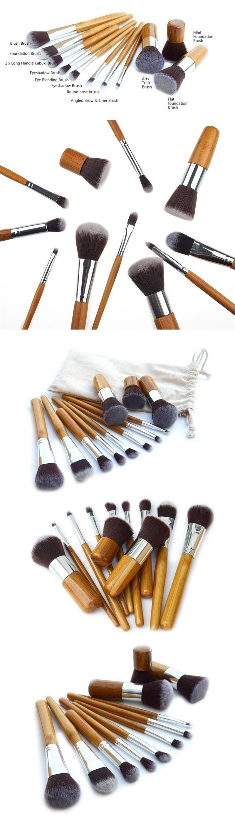 Кисти для макияжа синтетические и натуральные отличие