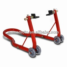 Steel Rear Paddock Stand for Motorcycle Rear Wheel with L Shape Hardware motorcycle accessory