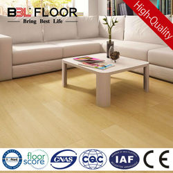 8mm AC3 light silent yellow standard finish oak floor 700178