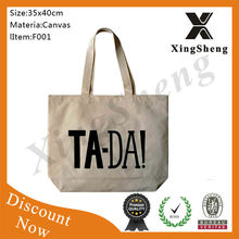 New China Eco-Friendly Cotton bag Canvas Tote bag