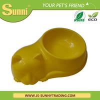 Cheap cat shape automatic pet food feeder pet food bowl timer
