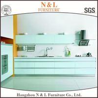 cheap kitchen cabinets Super White Australian Style Hanging Kitchen