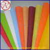 handicraft felt in different colors