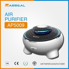 car air purifier with hepa & active carbon