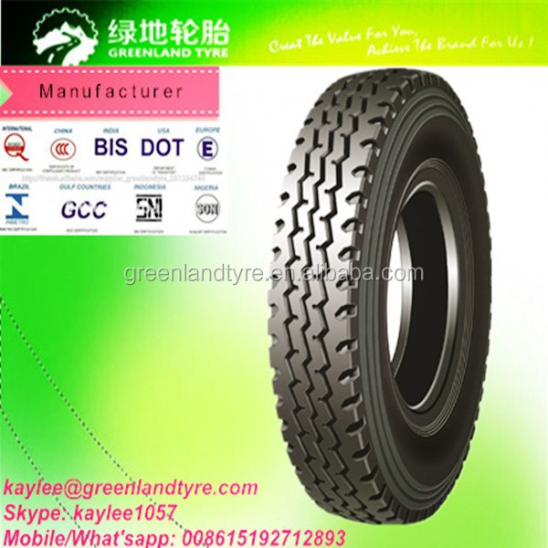 China Top Quality Truck Tyres 12.00R20 12.00R24 Suitable for Minning