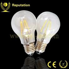 Edison type e27 6w energy saving smart led light bulb