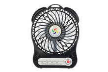 Lithium ion batteries keypress travel gift of protable battery mini fan used in summer