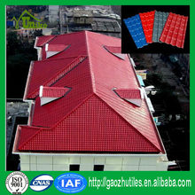 organic corrugated plastic light weight synthetic spanish roof tile