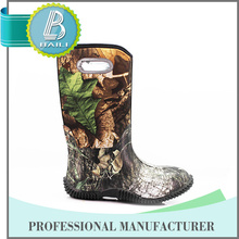Hot selling Low price Rubber cheap camo rain boots