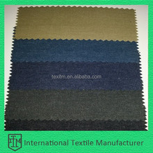 ITM2065 3/2 left twill woven denim like cotton fabric brushed surface and good handfeel fabric