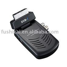 Mini scart DVB-T MPEG-4 decoder