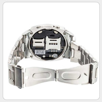 touch screen dual bluetooth Stainless steel business android smart watch phone