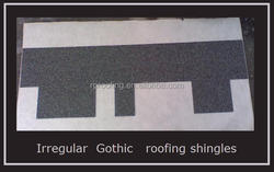colorful gothic fiberglass asphalt roofing shingles/China supplier
