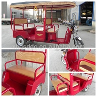 2014 new electric auto rickshaws three wheel motorcycle