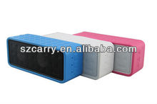 Cuboid silicon super good sound quality speaker with net