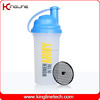 OEM cutom color 700ml plastic wholesale protein shaker with filter wholesale ODM (KL-7013E)