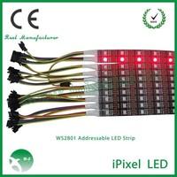 ce rohs led strip rgb string light smd5050 rgb led 32leds/meter