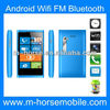 2013 Hot sell!! cheap low price M-HORSE 920mini 3.5 inch Android 4.1 smallest mobile phone dual sim with cover