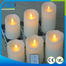 Plastic Flower LED Candle