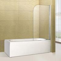 new design 8mm glass shower screen for bath tub