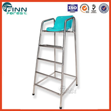 Finn Forest steel 304 life saving guard chair and chairs for swimming pool