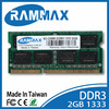 lowest price warranty laptop RAM DDR3 2GB 1333MHz /1gb 2gb 4gb 8gb 400 667 800 1333 1600mhz ddr1 ddr2 ddr3 module pc desktop