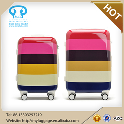ABS +PC new travel luggage bag trolley luggage for girls