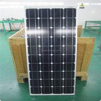 China factory stock 130 watt mono panel solar