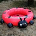 del coche inflable de la piscina para los niños del bebé de plástico de la piscina