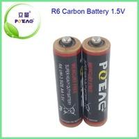 high quality super heavy duty battery 1.5v r6 aa