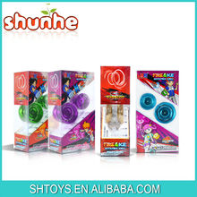 2015 Newest 5 IN 1 Changeable yoyo Die cast Retractable yoyo Spinning top toys