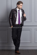2015 Europe Fashion New Style Man PU Jacket