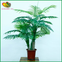 garden decoration artificial mini palm bonsai trees