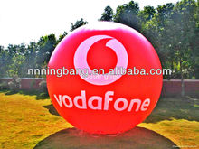 NB-BL2076 Ningbang Hot sell inflatable advertising ground balloon/cold air balloon/inflatable PVC helium balloon