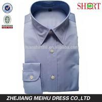 Satin custom slim fit plain design with darts lady blouse