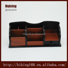 Wooden Display Stand Business pen Holder Wooden Phone Case Place Card Holders For Wedding # HX-1037