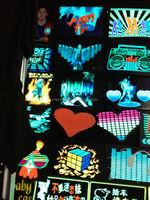 Sound actviated led T-shirt unisex