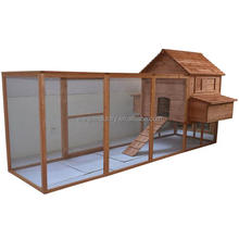 365cm Large Backyard Hen House Chicken Coop wooden/ Long Run