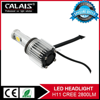 Super bright high quality bi-xenon kit h1 h3 h4 h7 h11 30W 2800lm auto led headlight