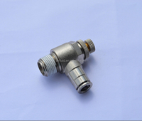 Air-Fluid Air Flow Control Valve high quality and low price AJSC06- G1/4