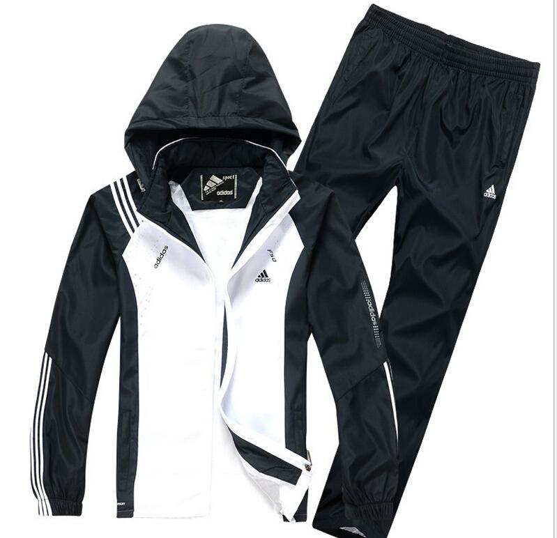 бесплатно shippin мужской спортивный костюм мужской спортивной одежды брюки и куртки
