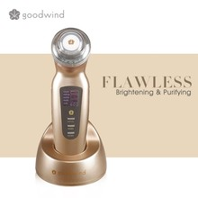 Goodwind beauty machine 3M Hz Ultrasound photonic Electric Mini Facial Makeup Cosmetics Tool