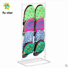 PN wire shoe organizer slipper & crocs storage bedroom furniture free standing shoe shelf metal shoe rack