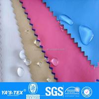 Colorful waterproof spandex fabric,waterproof lycra material fabric