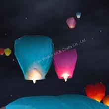 Fire retardant rope hot air balloon paper lantern