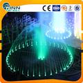 5m luz LED decorativa al aire libre fuentes de agua círculo bailando y fuente de agua ronda