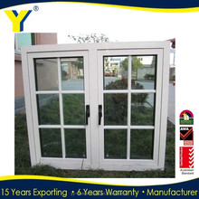 Australian standards Aluminum French Doors/Casement Door in Obscure Glass/ Aluminum Casement Doors